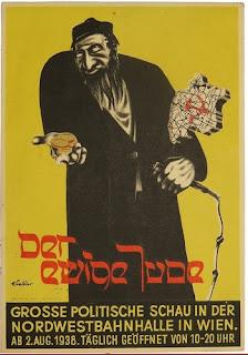 """Carte postale antisémite """"Le juif éternel"""" - photo du site web Espenlaub Militaria"""