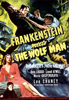 Poster - Frankenstein Meets the Wolf Man (1943)