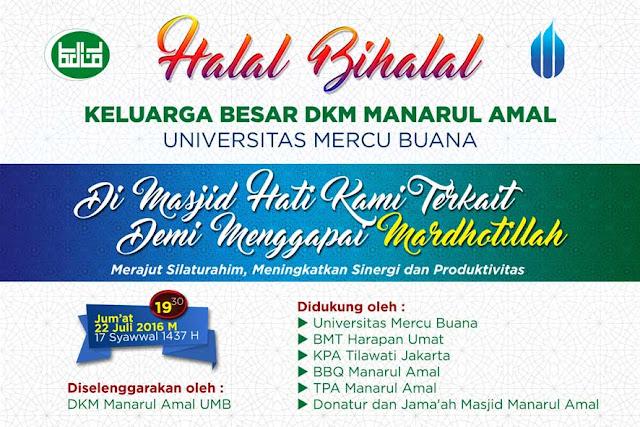 Contoh Spanduk Halal Bihalal