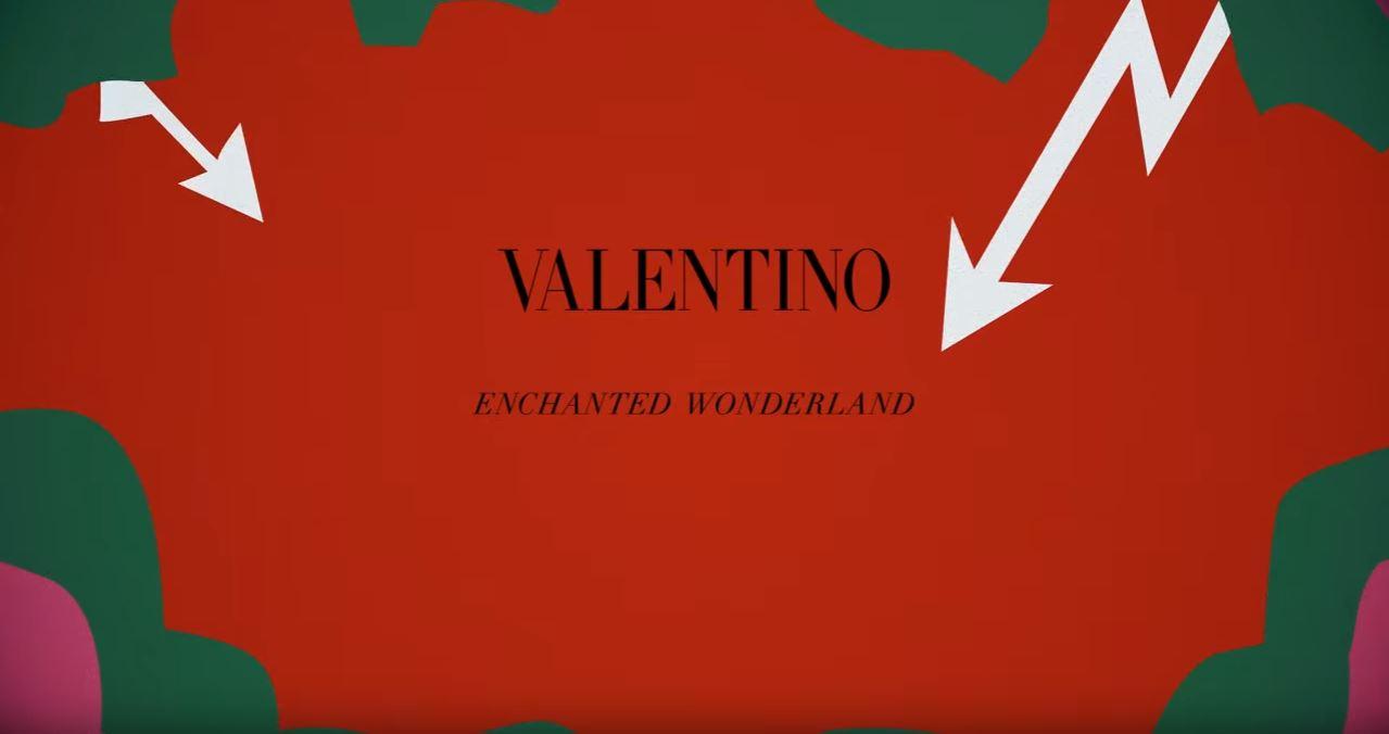 Canzone Pubblicità Valentino (Wonderland Collection) | Luglio 2016