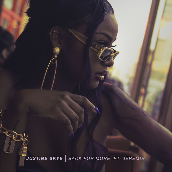 Justine Skye - Back for More (feat. Jeremih) - Single Cover