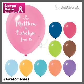 Promotional Pink Ribbon Balloons