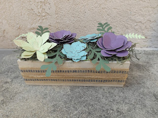 Succulent Flowers CTMH Gift