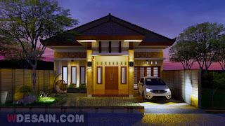 Desain Rumah 9x12 4 Kamar Tidur - Desain Rumah Minimalis Sederhana