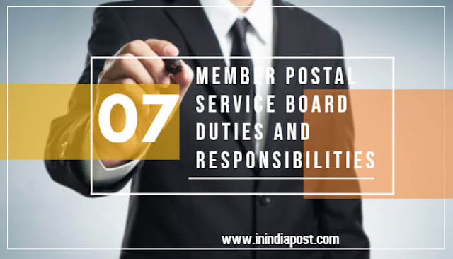 What is duties of a Member of Postal Service Board