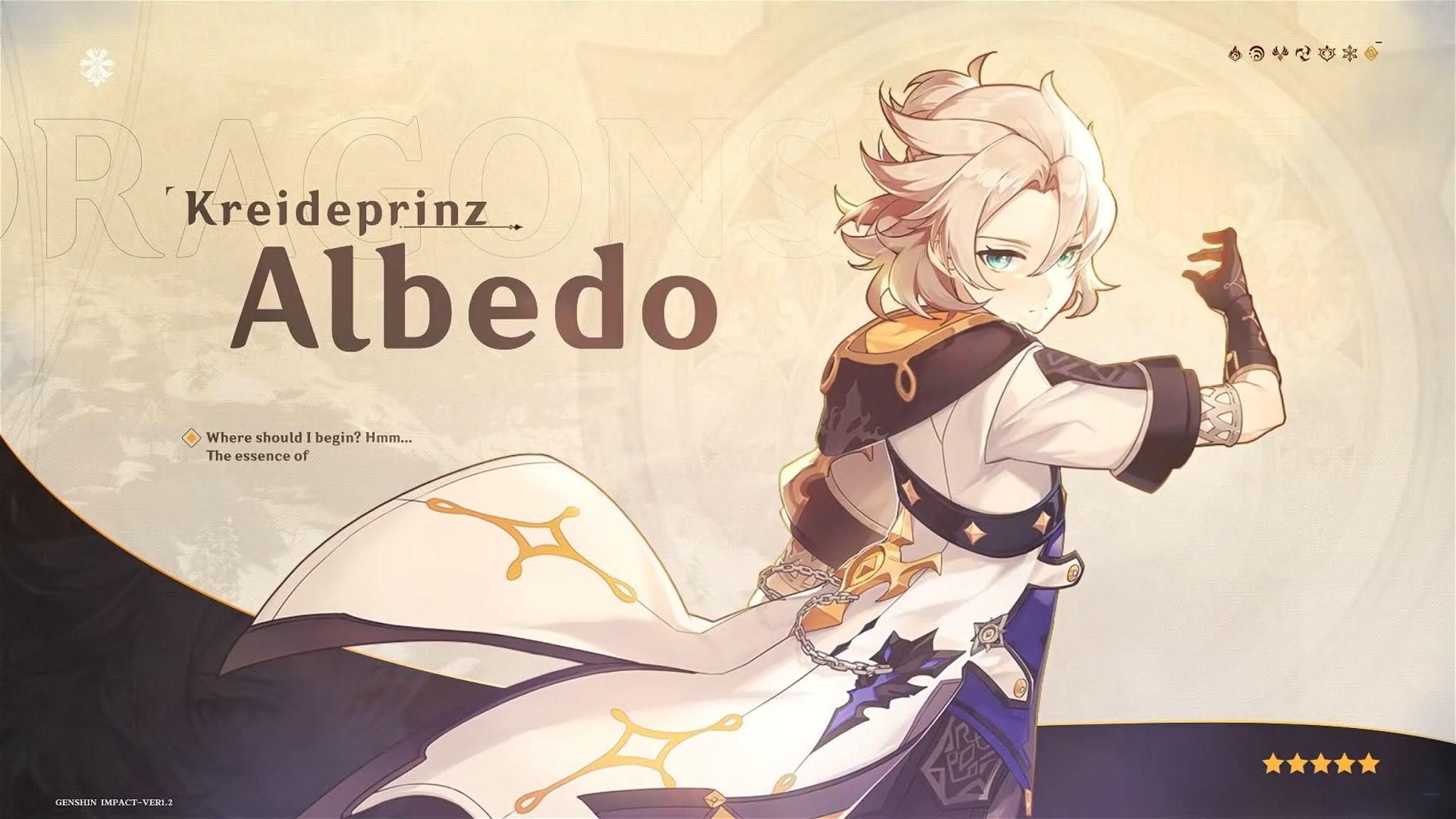 Albedo Genshin Impact