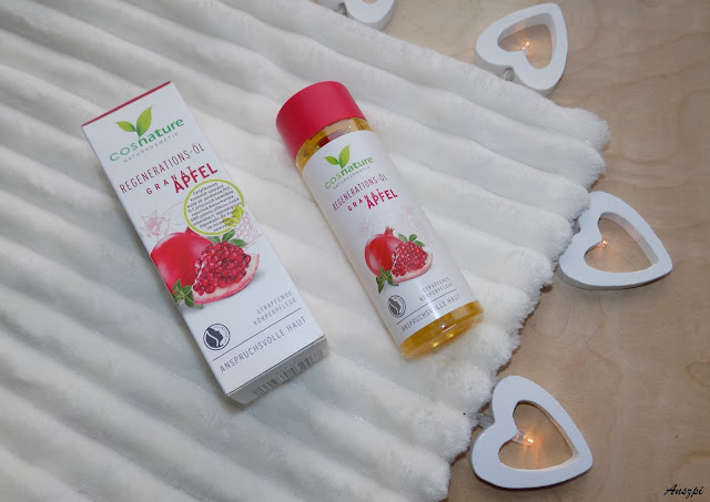 Naturalny regenerujący olejek z owocu granatu, Cosnature