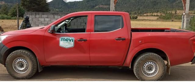 Elementos de la Policía Municipal recuperan camioneta robada minutos antes con violencia