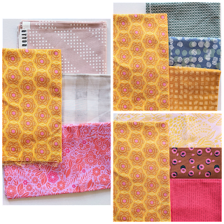 a fabric pull - a selection of quilting fabrics