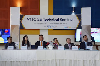 RTVD realiza seminario ATSC3.0 con Corea