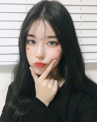 selfie chica coreana