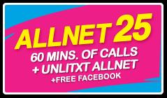 Globe ALLNET25 Free Broswing