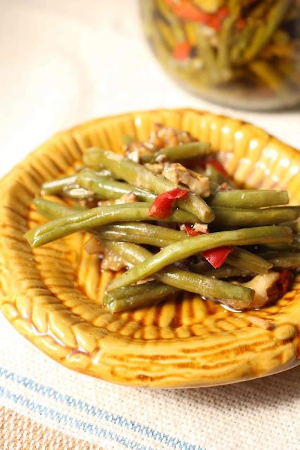 haricots verts comme au Liban