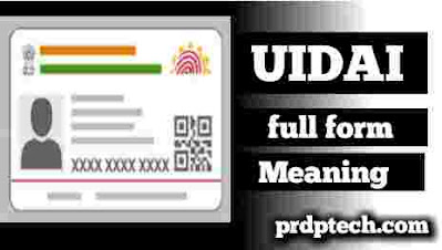 Uidai full form in aadhar card. Uid full form in aadhar card. Uid ka full form. Uidai ka full form. Uidai meaning in hindi.