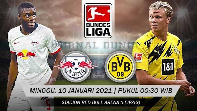 Prediksi RB Leipzig Vs Borussia Dortmund