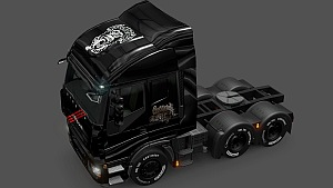 Iveco Stralis The Gas Monkey skin fixed
