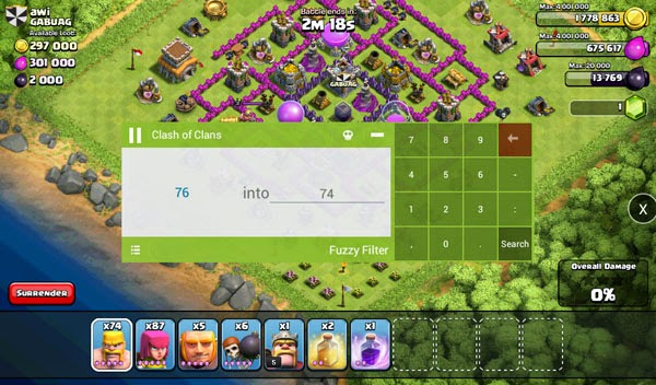Cara Memperbanyak Troops Game Clash of Clans