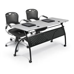 2 Person Training Room Table