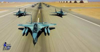 السيسى يفتتح قاعدة برنيس العسكرية بمنطقة البحر الاحمر