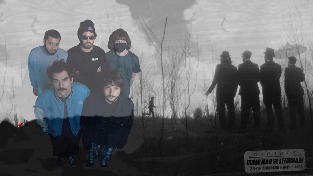 DAPARTE - Três faixas compõem o novo trabalho, que chegam acompanhadas de seus respectivos clipes