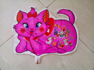 Foil Character Marie Cat Pink