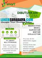 Bursa Kerja Surabaya di Smart Multifinance Terbaru November 2019
