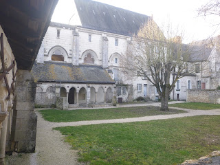 visite cloitre abbaye cormery