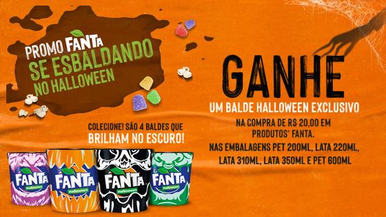 Promoção Fanta Se Esbaldando no Halloween