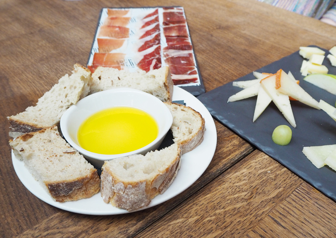 Iberica Manchester new spring menu nibbles
