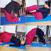 योगा के प्रति लोगों को जागरूक कर रही नेशनल युथ वॉलंटियर अनामिका कुमारी।