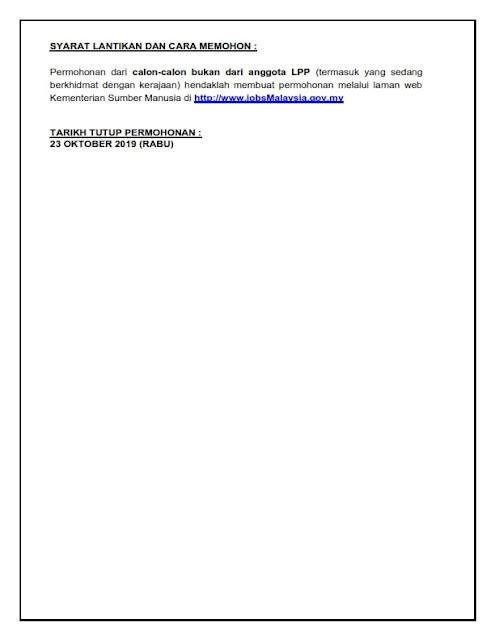 Iklan Lembaga Pertubuhan Peladang (LPP)