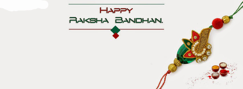 Happy Raksha Bandhan Facebook Covers