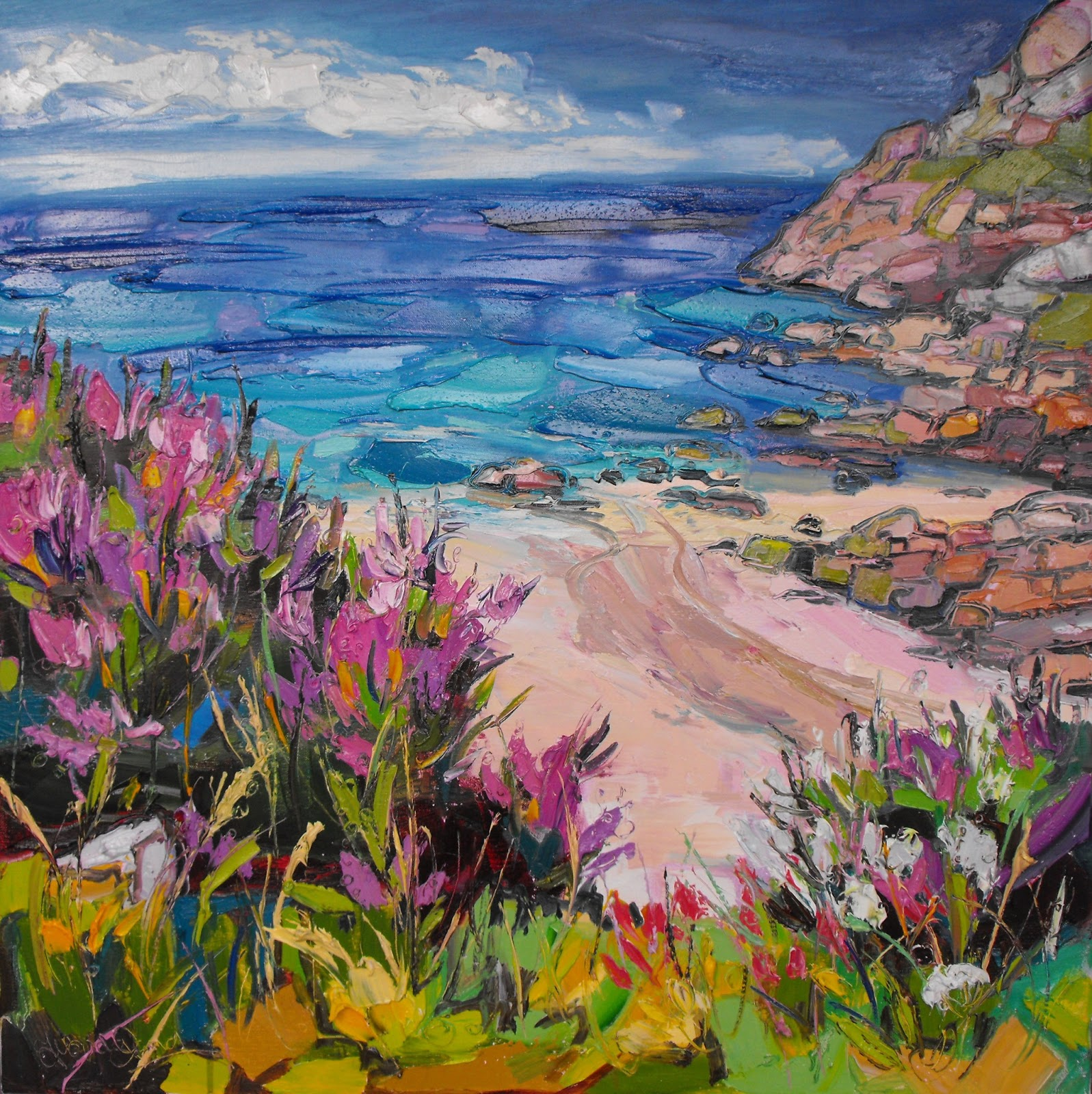 Clip Art: Basic Words: -ove Phonics: Cove Color I abcteach ... |Painting Artist Directory Cove