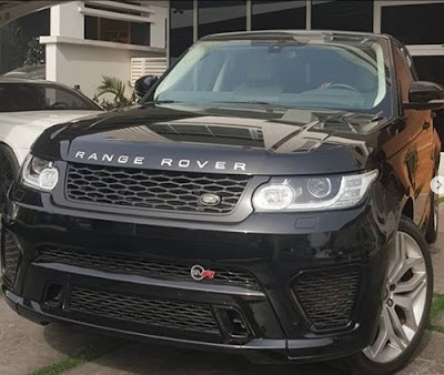 Nigerian singer, Timaya acquires brand new Range Rover for his baby mama as Christmas gift.