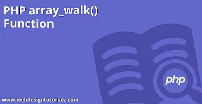 PHP array_walk() Function