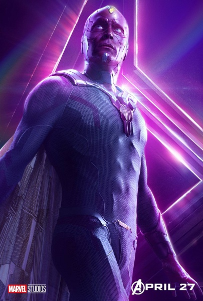 Avengers: Infinity War Vision