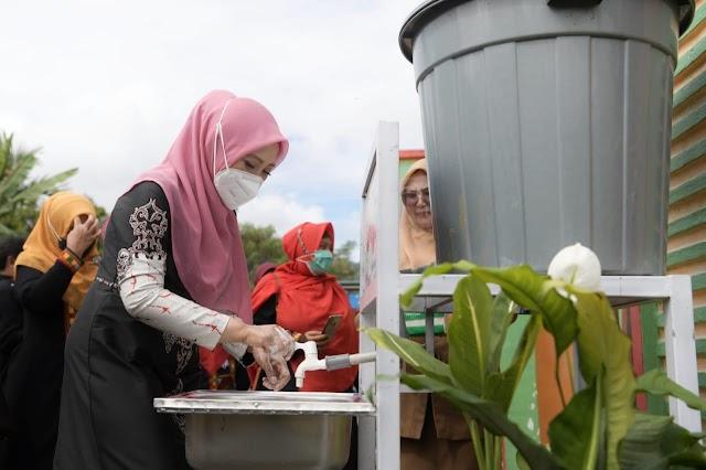 Wakil Ketua Satgas Covid-19 Aceh Sosialisasi Prokes ke Sejumlah Sekolah di Aceh Tengah