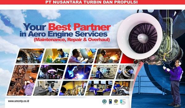 PT NUSANTARA TURBINDAN PROPULSI (PERSERO) : INDUSTRIAL SALES MANAGER AND SALES OFFICER - BUMN, INDONESIA