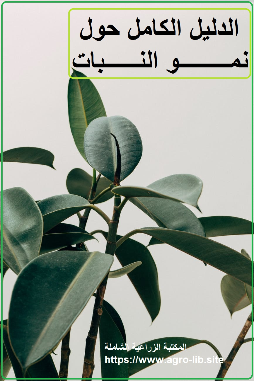 كتاب : الدليل الكامل حول نمو النبات