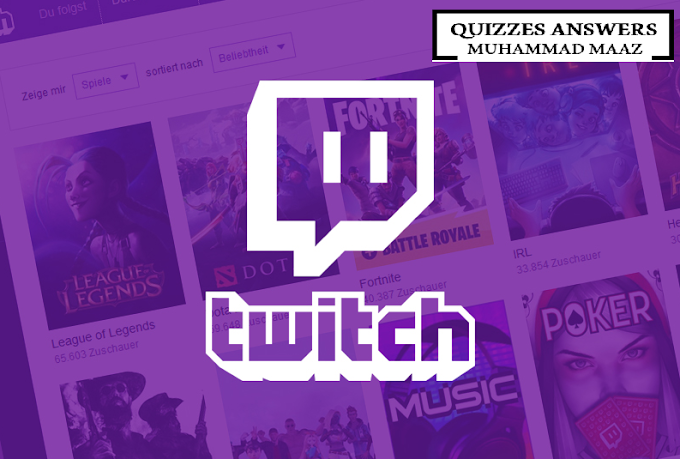 Twitch Streamers Trivia Quiz Answers | Quizes Answers