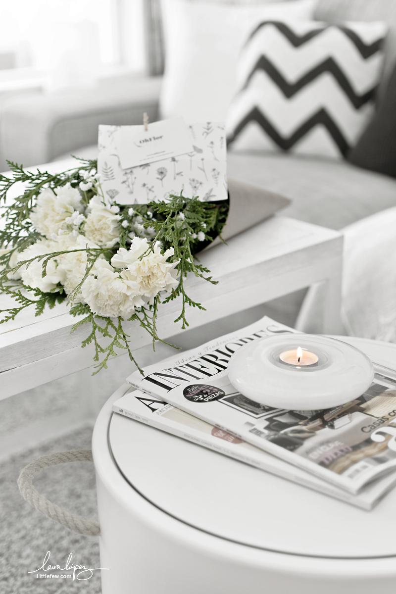 ADD A TOUCH OF COLOR IN YOUR HOME WITH NATURAL FLOWERS / Pon un toque de color en casa con flores naturales