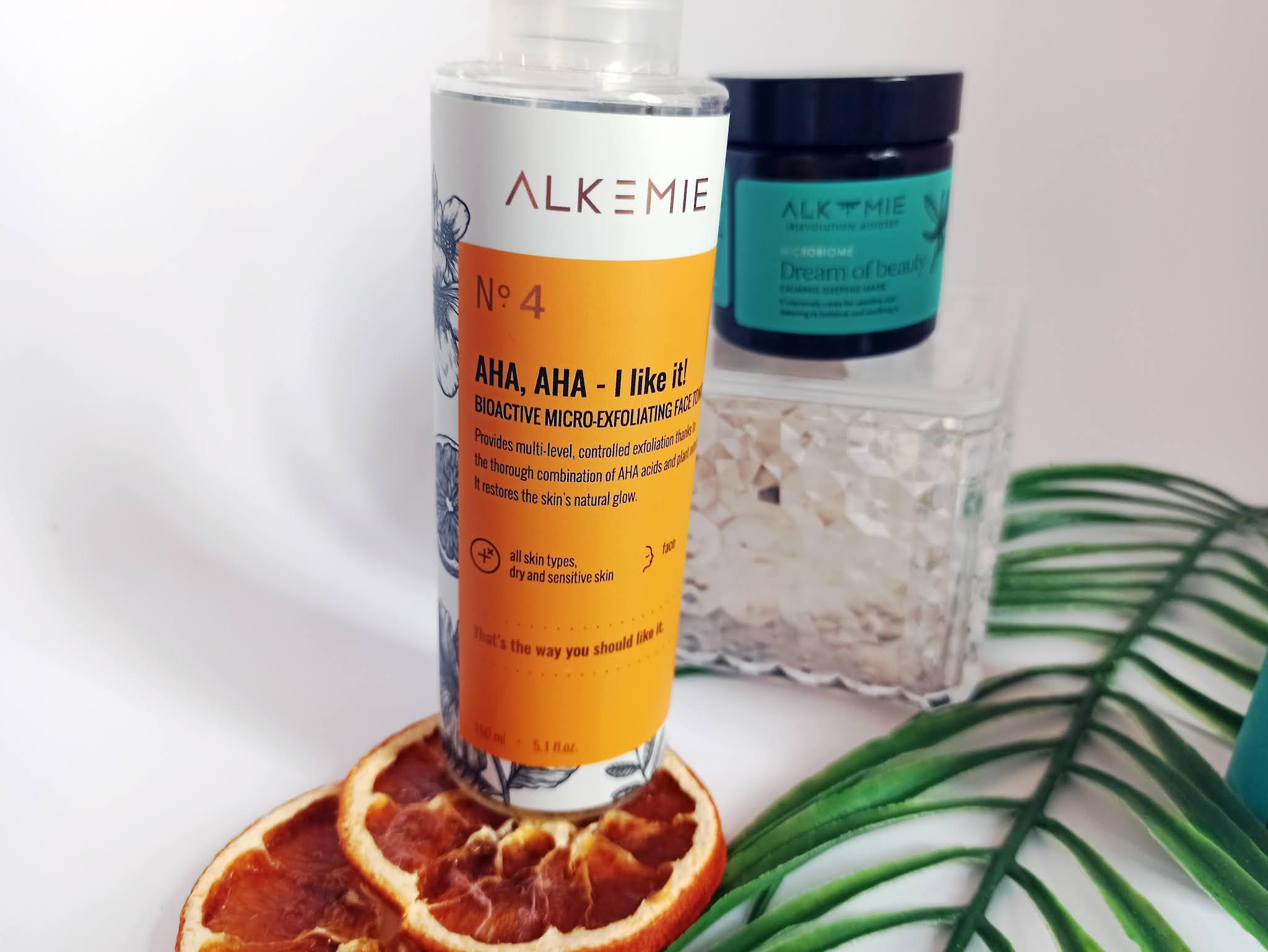 Alkmie, AHA, AHA - I Like it! - Bioaktywny tonik mikrozłuszczający