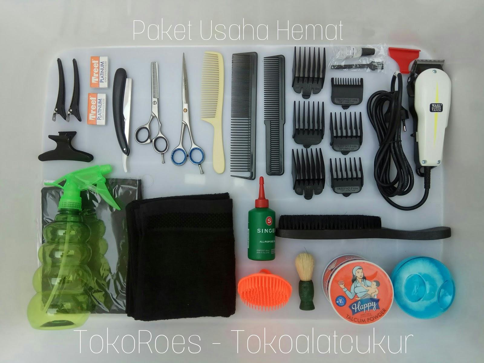 Paket Usaha Pangkas Rambut HEMAT (alat cukur)  252fdb8a6e