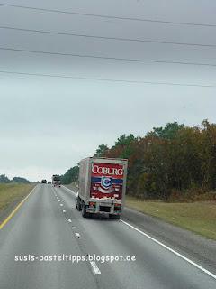 Coburg Truck in den Südstaaten