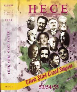 Hece Aylık Edebiyat Dergisi - Türk Şiiri Özel Sayısı