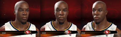 NBA 2K13 David West Face In-Game Preview