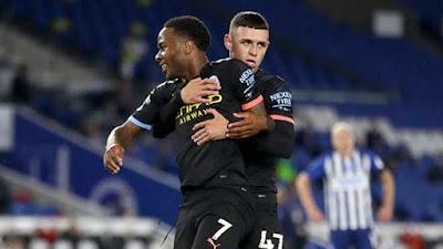 Video Brighton 0-5 Man City: Đại thắng 5 bàn, hat-trick siêu sao