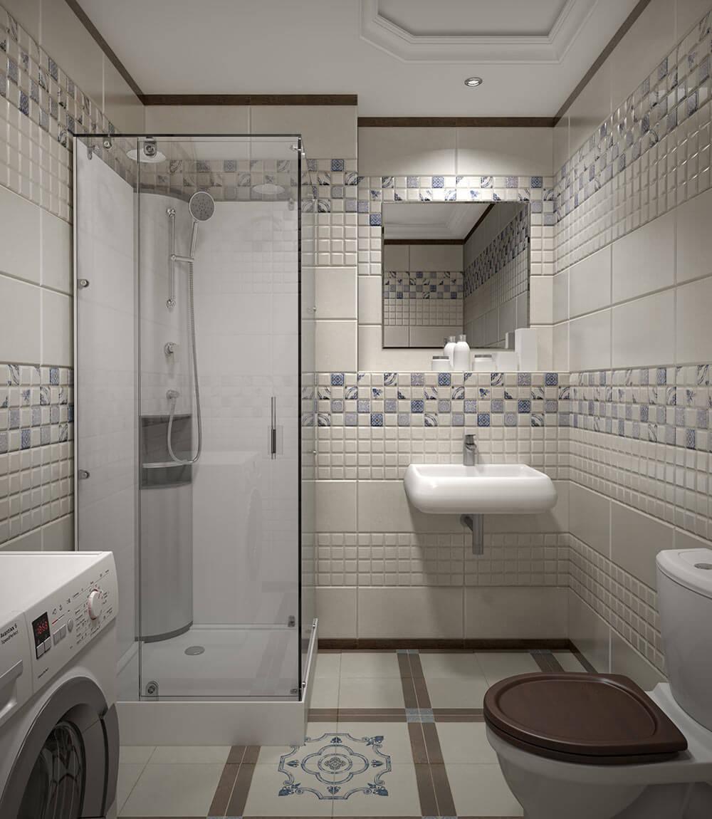 4 نصائح لاختيار نوع سيراميك حمامات صغيره مودرن