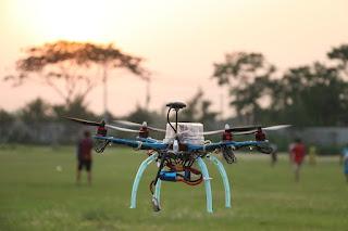 Drone Untuk Membubarkan Pendemo