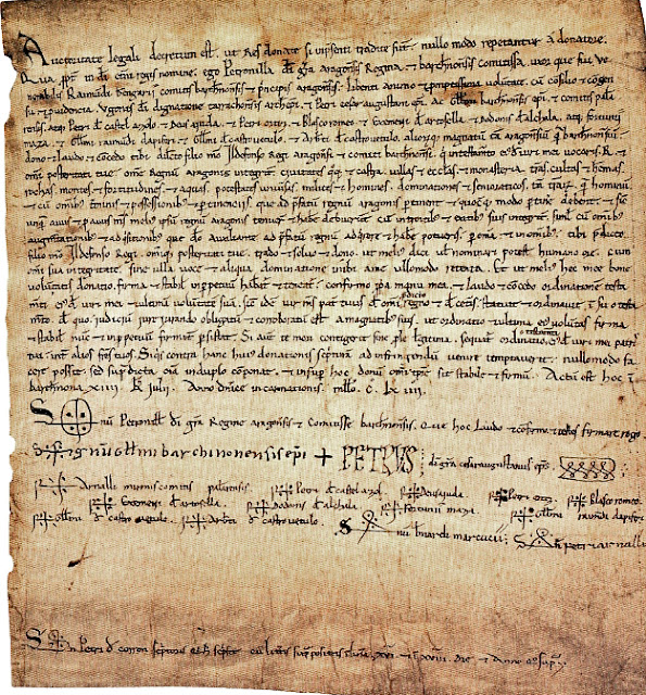 Petronila, Petrvs, reina, Aragón, Aragó, testamento